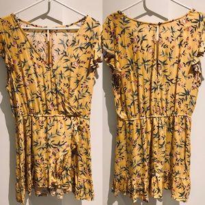 AE Floral Wrap Dress